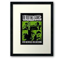 The Rotting Stones Framed Print