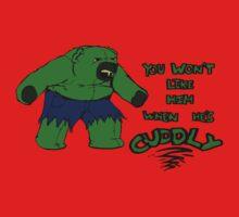The Cuddleable Hulk by Sozdanee