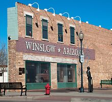 The Corner of Winslow Arizona by photocat1311