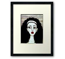 Lipstick 12 Framed Print