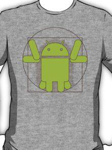 Vitruvian Android T-Shirt