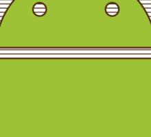 Vitruvian Android Sticker