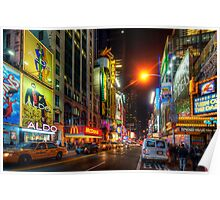 42nd Street NYC 3.0 Poster