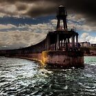 Whitby Pier by seanwareing