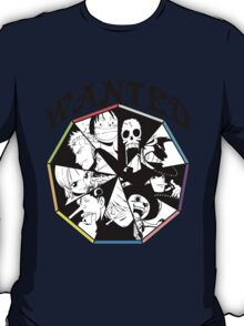 One Piece - Straw Hat Pirates Crew T-Shirt