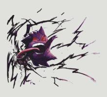Pokemon - Gengar by Tarobeast