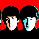 Beatles - Color - Pop Art by wcsmack