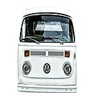 White Volkswagen VW, Apple iphone 4 4s, iPhone 3Gs, iPod Touch 4g case  by lapart
