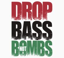 Drop Bass Not Bombs (Libya) [Stencil Series] by DropBass
