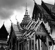 BW Thailand Bangkok the Dusit group 1970s by blackwhitephoto