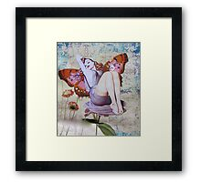 Pinup Girls: Veronica Framed Print