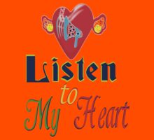 ۞»♥Romantic Love:Listen to My Heart Clothing & Stickers♥«۞ Kids Clothes