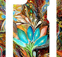 "iPhone case 1 based on my original artwork ""The Dance of Lizards"" by Elena Kotliarker"