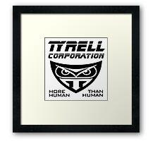 Blade Runner Tyrell Corporation Framed Print