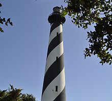 Cape Hatteras Lighthouse, Hatteras Island, NC by CreatorsBeauty