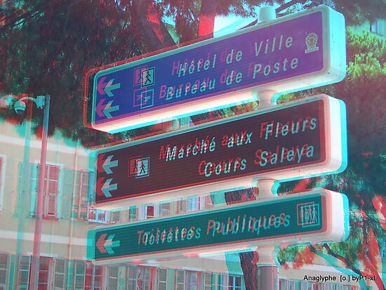 3d signs by olivier bareau