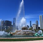 Buckingham Fountain, Chicago by Adam Kuehl
