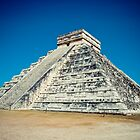 El Castillo, Chichen Itza by Michael Vesia