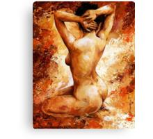 Nude impression - n06 Canvas Print