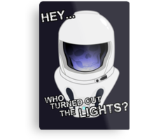 "Doctor Who - ""Hey Who Turned Out The Lights"" (Vashta Nerada) Metal Print"