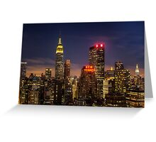 New York, New York Greeting Card
