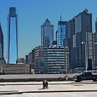 Philadelphia Skyline by cclaude