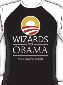 Wizards for Obama T-Shirt