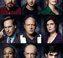 breaking bad cast by micahmm