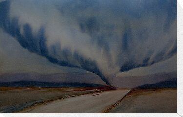 Watercolour: Tornado by Marion Chapman