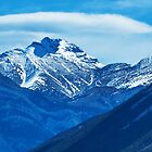 Mt Peak near Lake Minnewanka by Yukondick