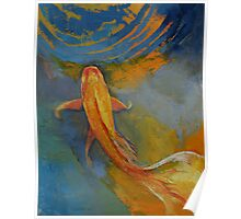 Butterfly Koi Poster