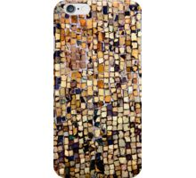 gold tiles iPhone Case/Skin
