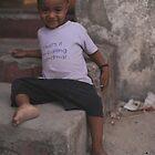 That's it i'm calling grandma, Mombasa, Kenia by Konstantin Zhuravlev
