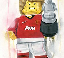Manchester United player by Deborah Cauchi