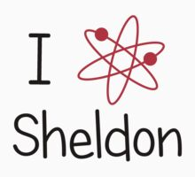 I love Sheldon Cooper by Prettyinpinks