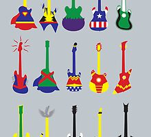 Guitar Heroes  by Jonah Block