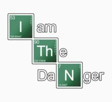 Breaking Bad - I Am The Danger [STICKER] by Styl0