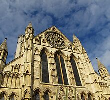 York Minster by Carol Bleasdale