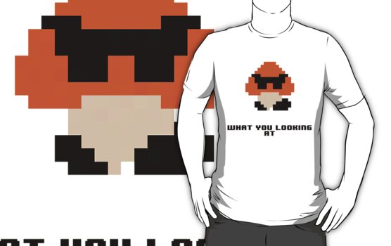 What you looking at Goomba by KirbyKoolAid