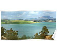 Malaga Landscape Poster