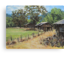 """""""On the Ranch"""" Canvas Print"""