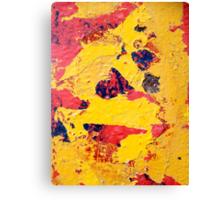PeELiNg PaiNt Canvas Print