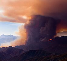 Fire on the Ridge by Mark Ramstead