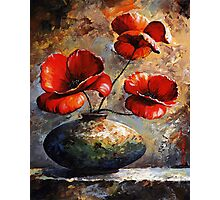 Poppies Photographic Print