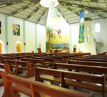 Isabela church. by Anne Scantlebury