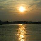 Sunset Over Assateague by Darlene Bayne