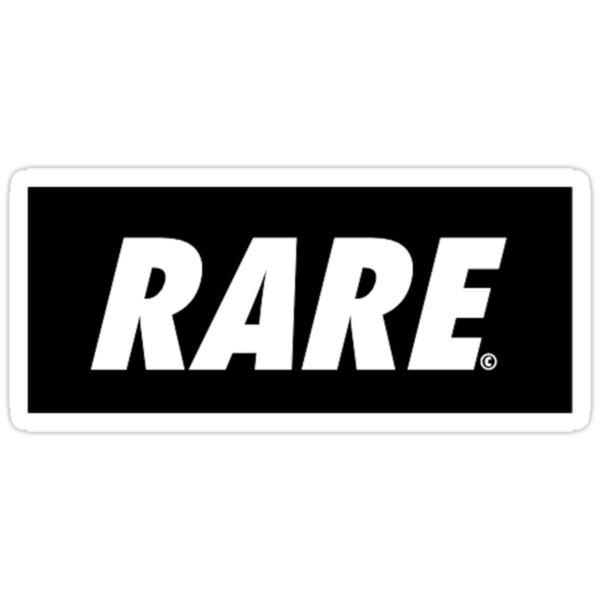 Rare Bar Logo//Black by RareApparel
