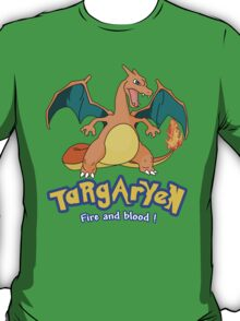 Targaryen Charizard Game of Thrones T-Shirt