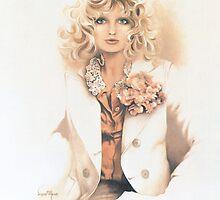 """Belinda"" Oil On Canvas by Sara Moon"