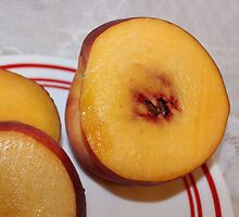 Peaches for Lunch by aprilann